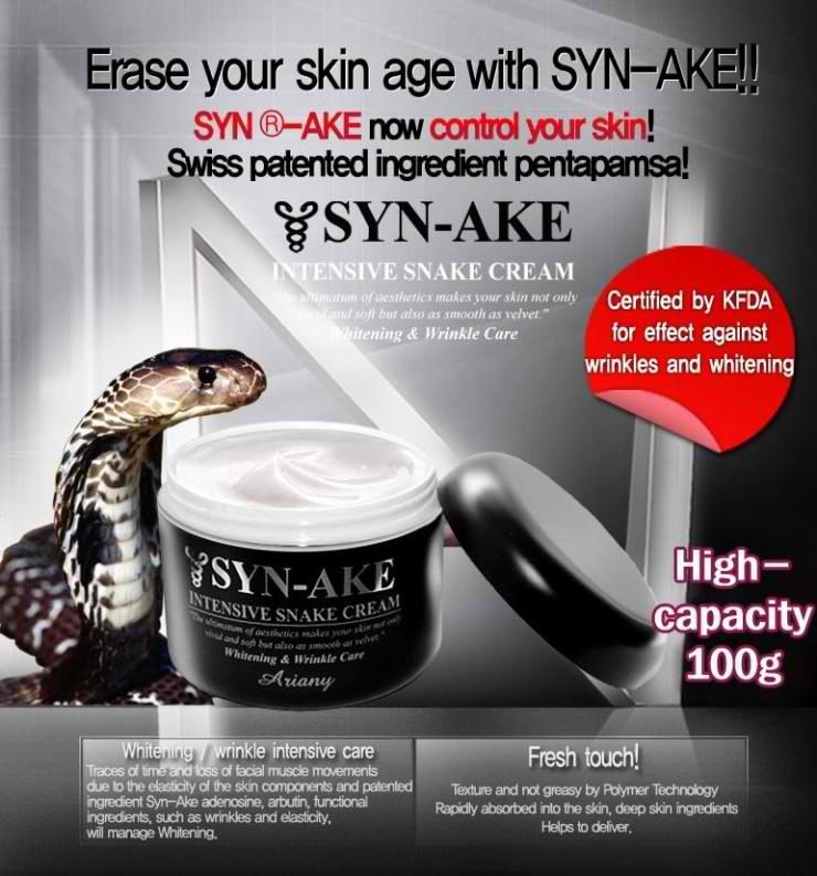 SYN-AKE Intensive Snake Venom Cream